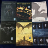LOT Game of Thrones (Urzeala tronurilor) Sezoanele 1-6 DVD-romana , NOI !!!