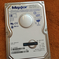 HDD PC - Hard disc Maxtor 300GB IDE - stare perfectă - Hard Disk Maxtor, 200-499 GB, 2 MB
