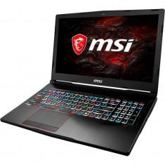 Laptop MSI GE73VR 7RE Raider 17.3 inch FHD Intel Core i7-7700HQ 16GB DDR4 1TB HDD 256GB SSD GeForce GTX 1060 6GB RGB Backlit Black
