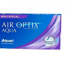 Alcon / Ciba Vision Air Optix Aqua Multifocal lunare 3 lentile / cutie