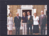 BELGIA 1999 – FAMILIA REGALA, bloc nestampilata, CD108, Nestampilat