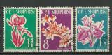 Albania 1961 - flori, serie stampilata