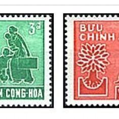 Vietnam Sud 1960 - World Refugee Year, serie neuzata - Timbre straine