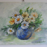 Flori 19-pictura ulei pe panza;MacedonLuiza, Altul