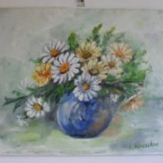 Flori 19-pictura ulei pe panza;
