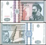 Romania 1992 - 500 lei UNC