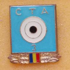 Insigna CTA Cercul Tehnic Aplicativ tir 3