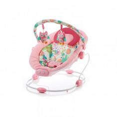 Leagan muzical cu vibratii Grand Confort Sensation Pink Baby Mix - Balansoar interior