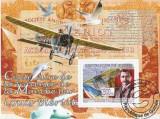 Guinea 2009 - aviatie, colita stampilata