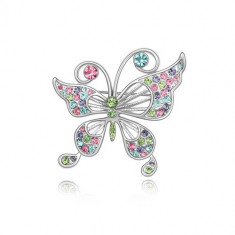 Brosa Multicolored Butterfly - Brosa Swarovski
