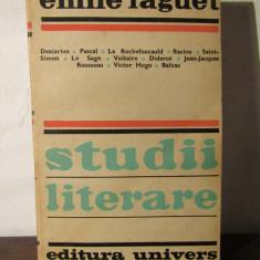 STUDII LITERARE -EMIL FAGUET - Studiu literar