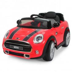Masinuta electrica Chipolino Mini Cooper Hatch Red - Masinuta electrica copii