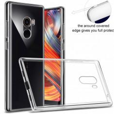 Husa carcasa TPU Gel transparenta Xiaomi MI MIX 2 (doi), 0,3 mm grosime, Universala, Transparent, Gel TPU