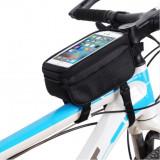 Borseta B-Soul pentru bicicleta cu suport telefon - Accesoriu Bicicleta