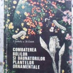 Combaterea Bolilor Si Daunatorilor Plantelor Ornamentale - I. Szekely, St. Oana, 408125 - Carti Agronomie