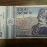 5000 lei 1993