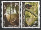 2011 - Europa paduri, serie stampilata
