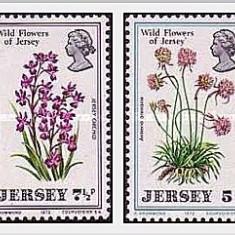 Jersey 1972 - flori salbatice, serie neuzata