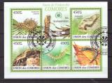 Comores 2009 - Miriapode, colita stampilata