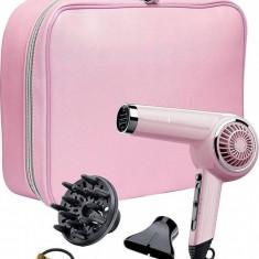 Uscator de Par Remington D4110OP Retro Pink Lady 2000W 3 trepte temperatura, Numar viteze: 3