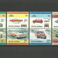 Niutao-Tuvalu 1984 - automobile, serie neuzata - Timbre straine