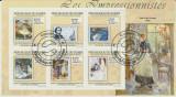Guinea 2009 - picturi, bloc stampilat