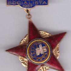 Insigna Fruntas in Intrecerea Socialista 1967
