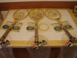 Racheta tenis FILA vintage + 3 seturi de corzi (toate NOI)-made in ITALY