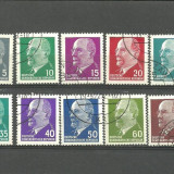 GERMANIA - ANIVERSARE PRESEDINTELE RDG,  seriii stampilate, YT2, Stampilat