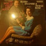Disc vinyl Harry Secombe & Myrna Rose  The World's Greatest Love Duets 6870 522