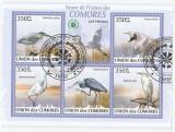 Comores 2009 - ardea, bloc stampilat