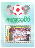 St Vincent 1986 - CM fotbal Mexic, colita neuzata
