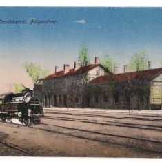 Ungaria - Oroshaza, gara, 1918