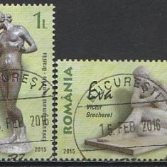 2015 - sculpturi, serie stampilata