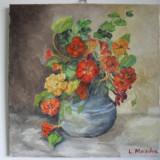 Flori 16-pictura ulei pe panza;MacedonLuiza, Altul