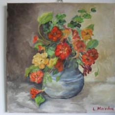 Flori 16-pictura ulei pe panza;