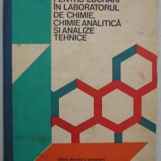 Indrumator Pentru Lucrari In Laboratorul De Chimie  Analitica Si Analize Tehnice