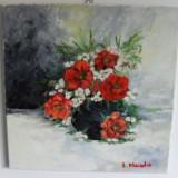 Flori 15-pictura ulei pe panza;MacedonLuiza, Altul