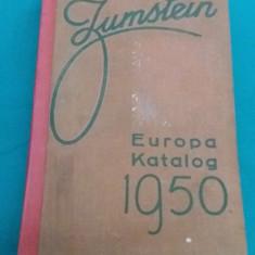 BRIEFMARKEN KATALOG ZUMSTEIN *EUROPA*1950