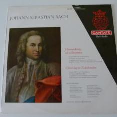 Bach - cantate - vinyl - Muzica Corala, VINIL