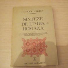 SINTEZE DE LIMBA ROMANA THEODOR HRISTEA