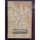 LABIRINT - NICOLAE BALOTA, Nicolae Balota