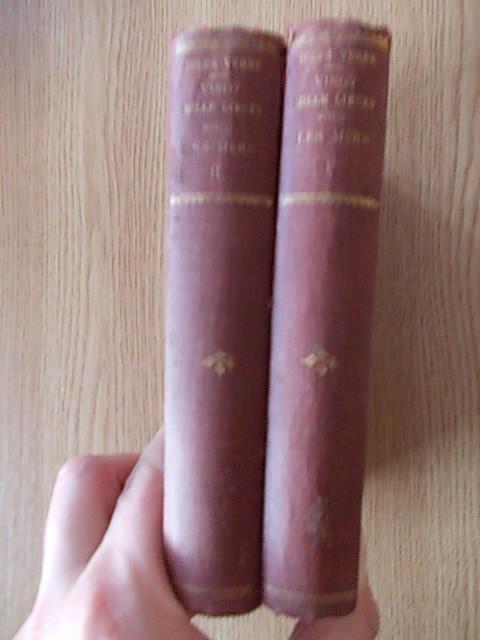 JULES VERNE- VINGT MILLE LIEUES SOUS LES MERS-HETZEL- contin gravuri, doua vol.