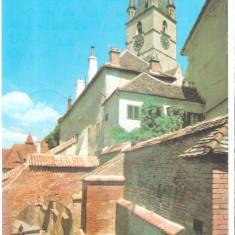 Sibiu 1979 - pasajul scarilor