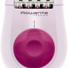 Epilator Rowenta EP1030F5, Alb/Roz, 24 pensete, 2 viteze, Functie masaj
