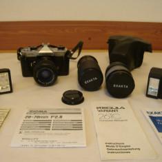 Aparat foto FUJICA ST605N + 3 obiective + 2blitz-uri bonus - Aparate Foto cu Film