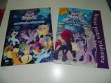 Set 2 reviste My Little Pony The Movie, Joaca-te si coloreaza MLP plus abtibilde