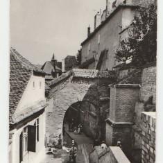 Sibiu 1963 - pasajul scarilor