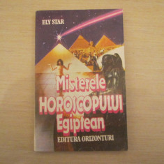 MISTERELE HOROSCOPULUI EGIPTEAN ELY STAR - Carte astrologie
