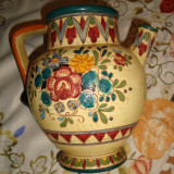 ULCIOR CERAMICA SMALTUITA ; H = 20 cm, diametru maxim 15 cm ; SUPERB - Arta Ceramica